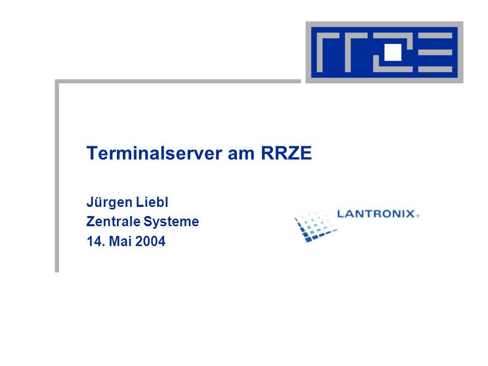 Terminalserver am RRZE