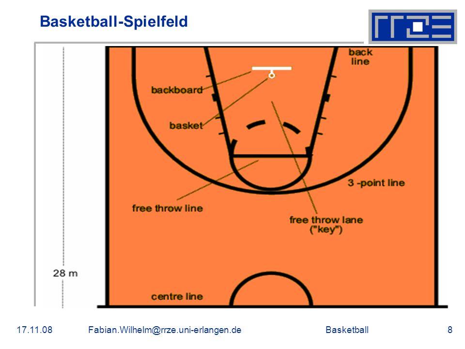 Basketball-Spielfeld