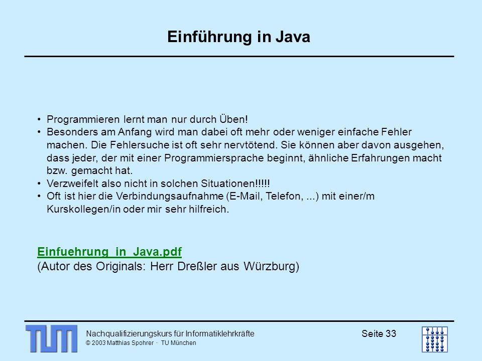 Einführung in Java Einfuehrung_in_Java.pdf