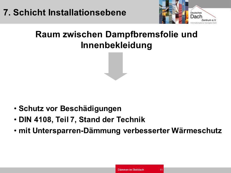 7. Schicht Installationsebene
