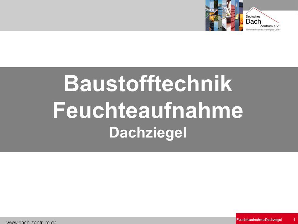 Baustofftechnik Feuchteaufnahme Dachziegel.ppt