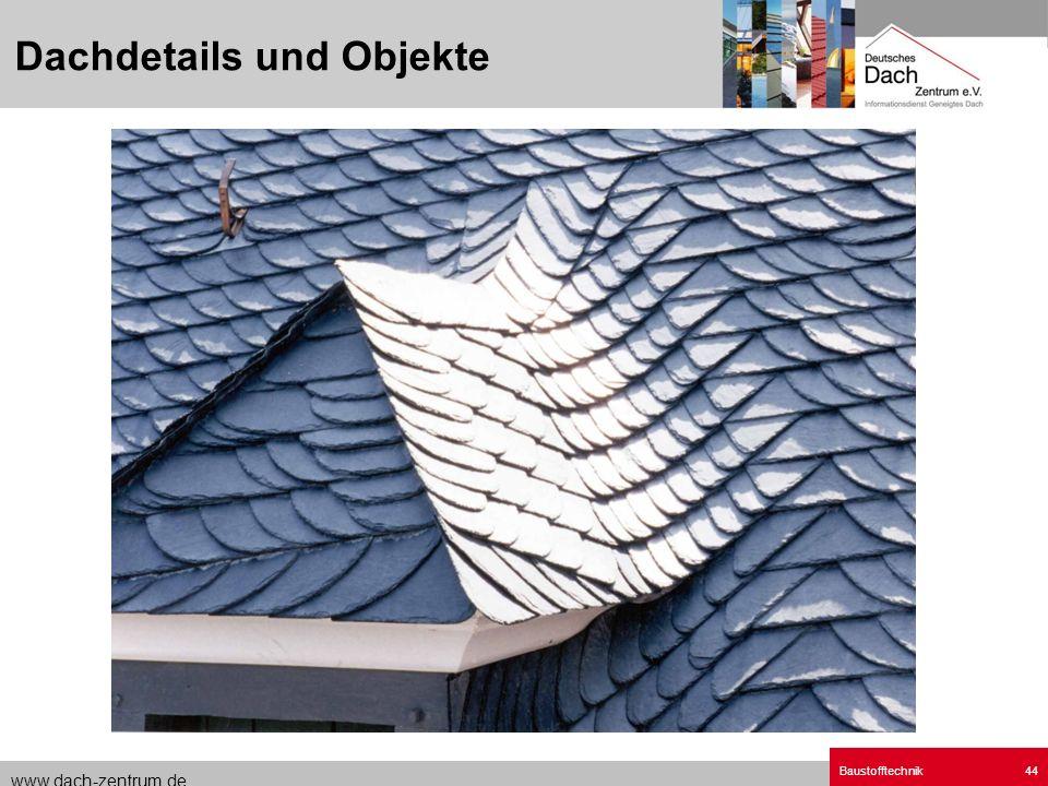 Dachdetails und Objekte