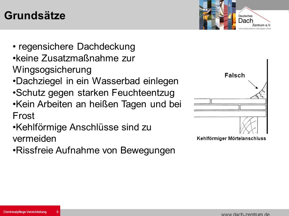 Denkmalpflege Vermörtelungen.ppt