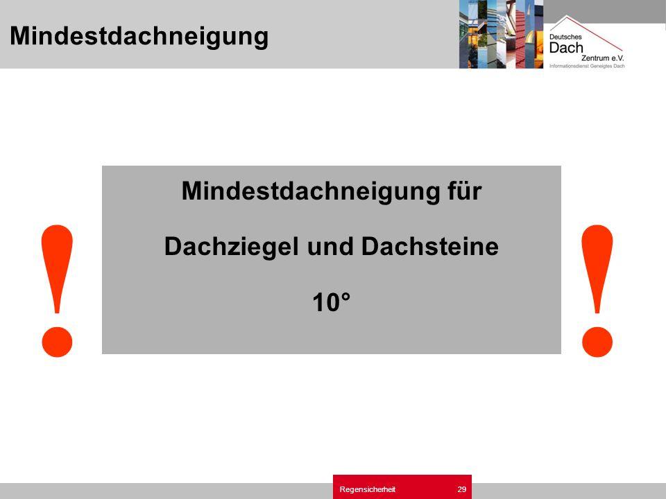 Regensichrheit Ziegel- und Dachsteindach.ppt