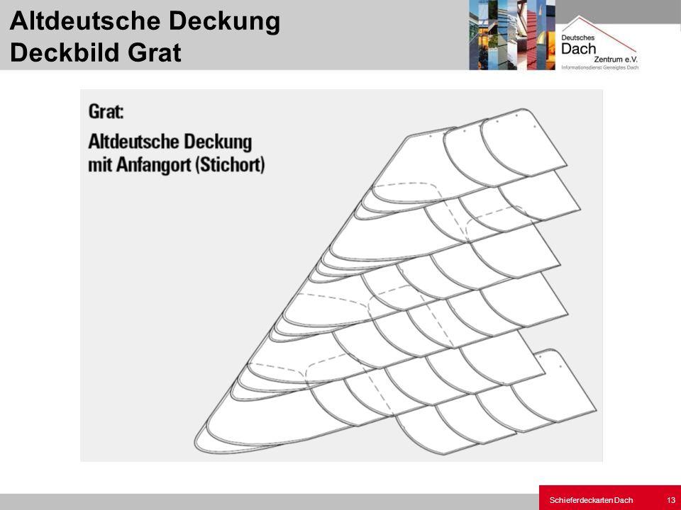Altdeutsche Deckung Deckbild Grat