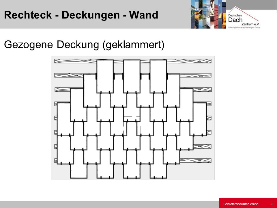 Rechteck - Deckungen - Wand