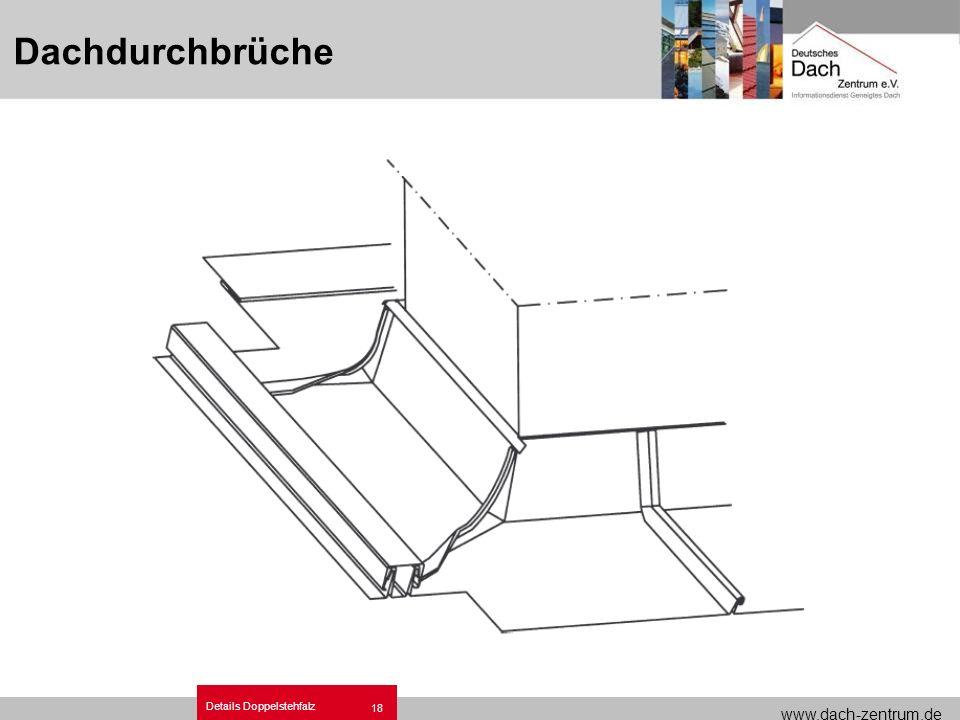 Metalldach Dachdetails Doppelstehfalz.ppt