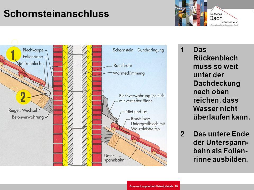Schornsteinanschluss