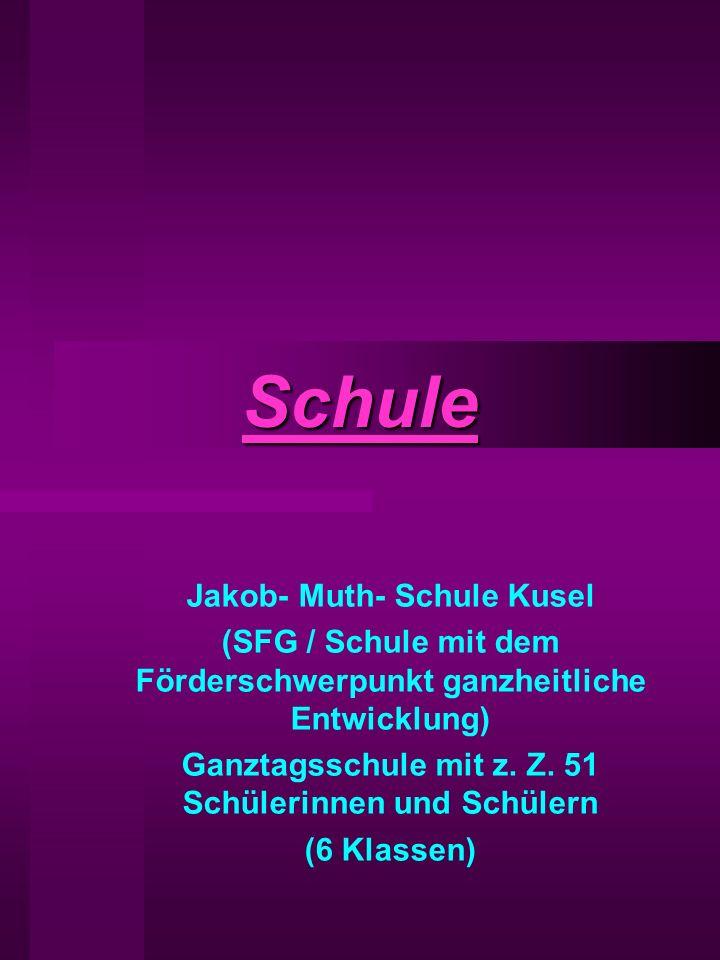 Schule Jakob- Muth- Schule Kusel