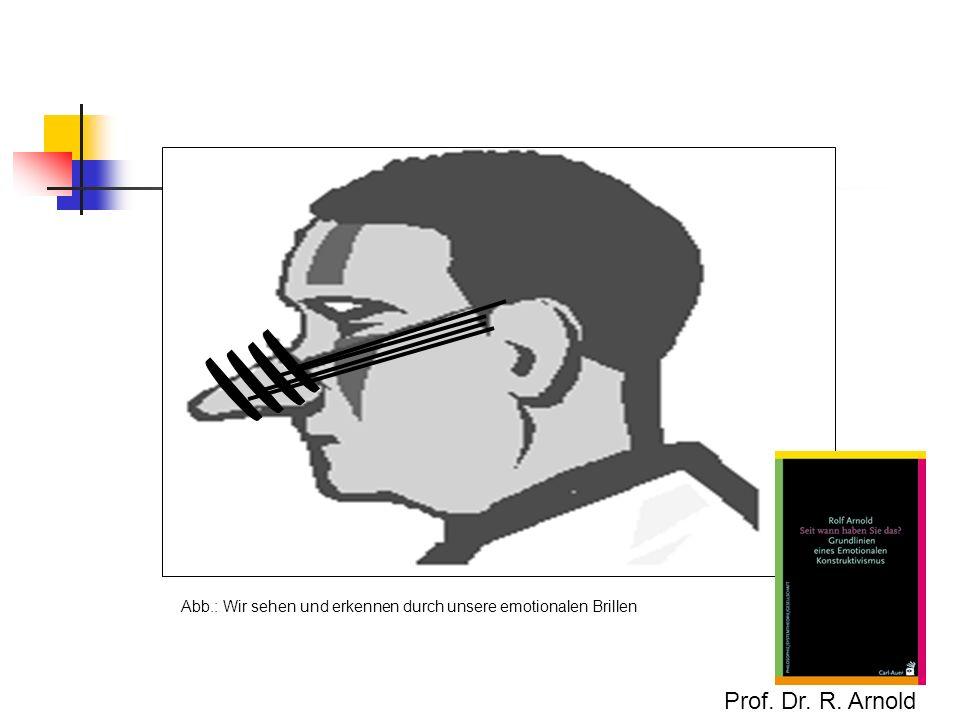 Abb.: Wir sehen und erkennen durch unsere emotionalen Brillen
