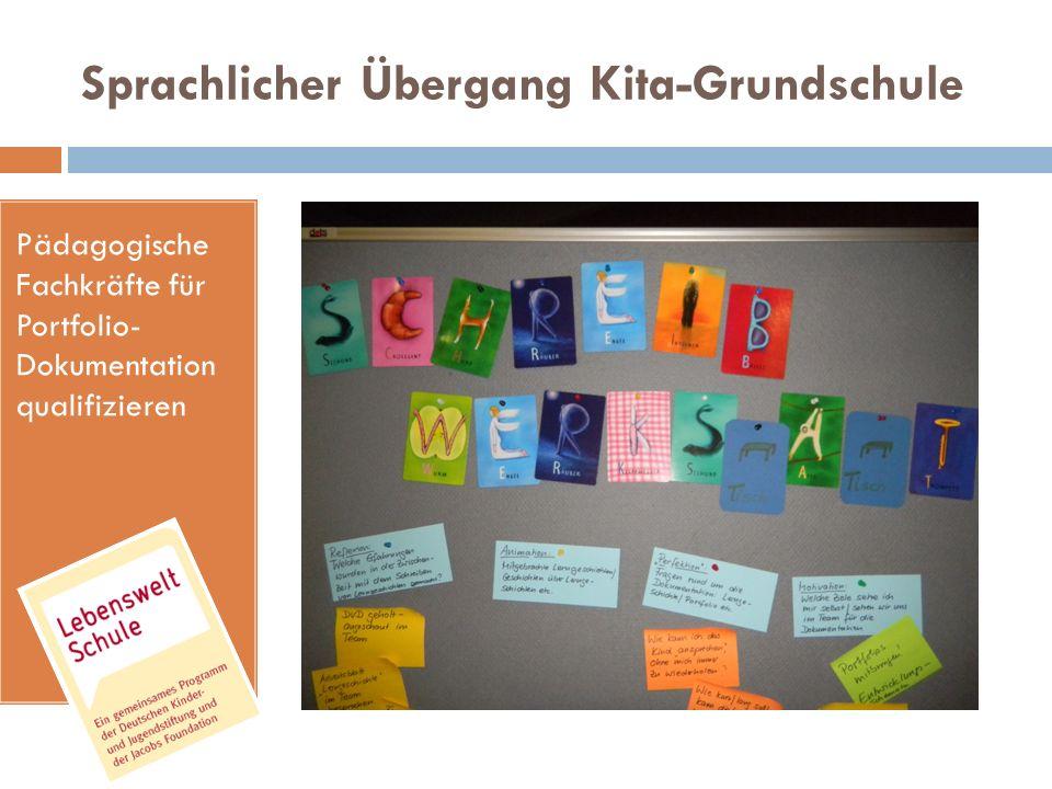 Sprachlicher Übergang Kita-Grundschule