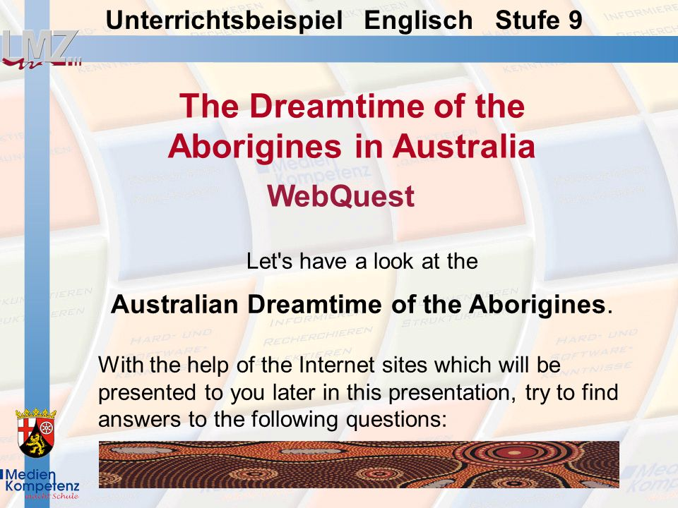 The Dreamtime of the Aborigines in Australia