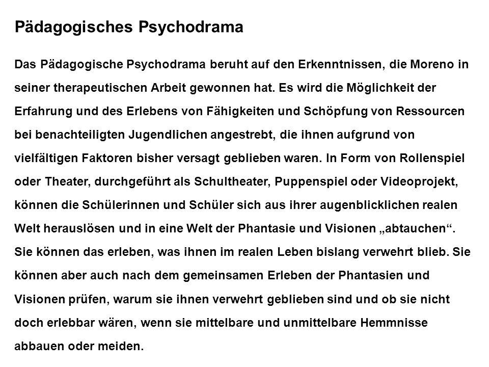 Pädagogisches Psychodrama