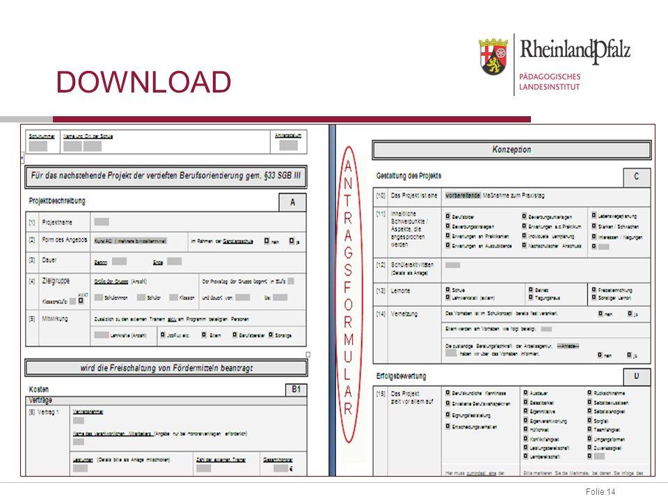 Download Antragsformular downloaden und ausfüllen.