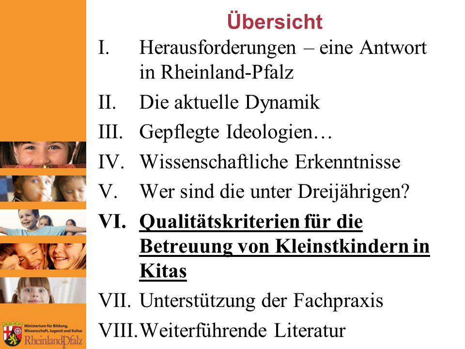 Herausforderungen – eine Antwort in Rheinland-Pfalz