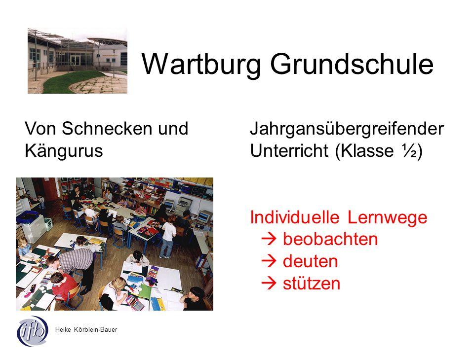Wartburg Grundschule Von Schnecken und Kängurus