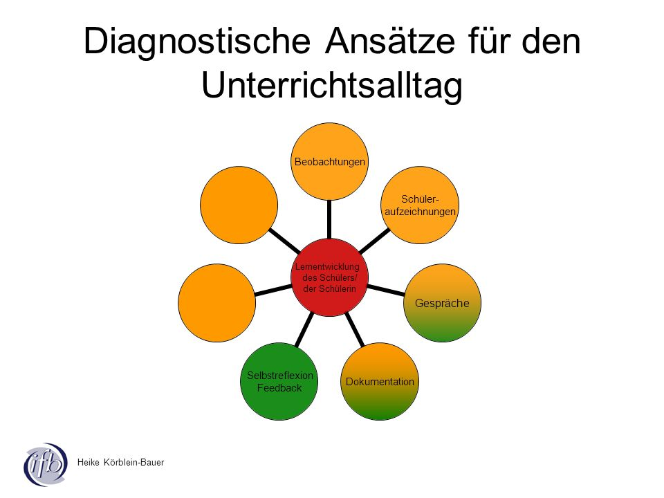 Diagnostische Ansätze für den Unterrichtsalltag