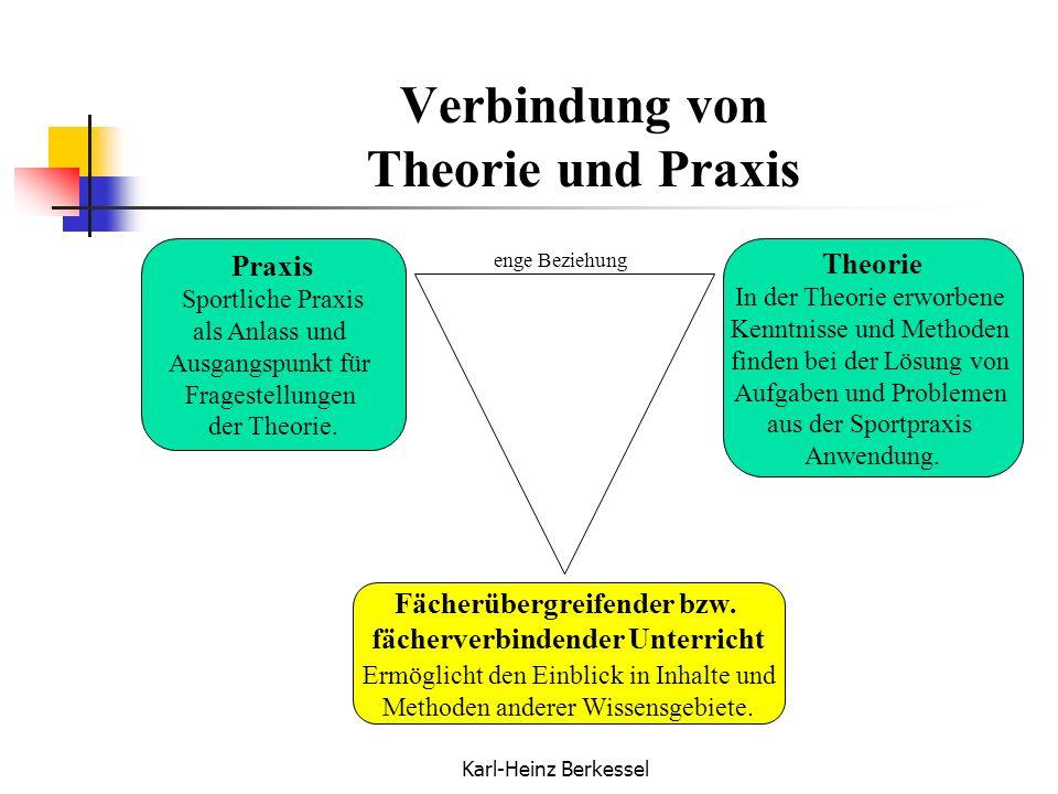 Verbindung von Theorie und Praxis
