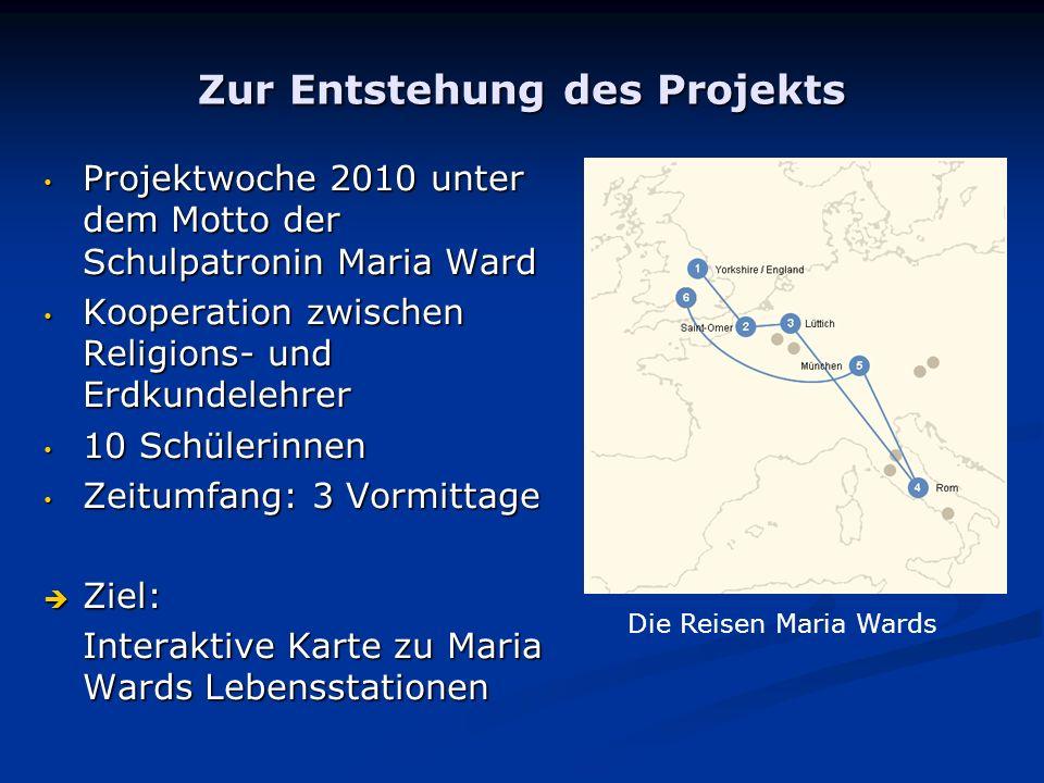 Zur Entstehung des Projekts
