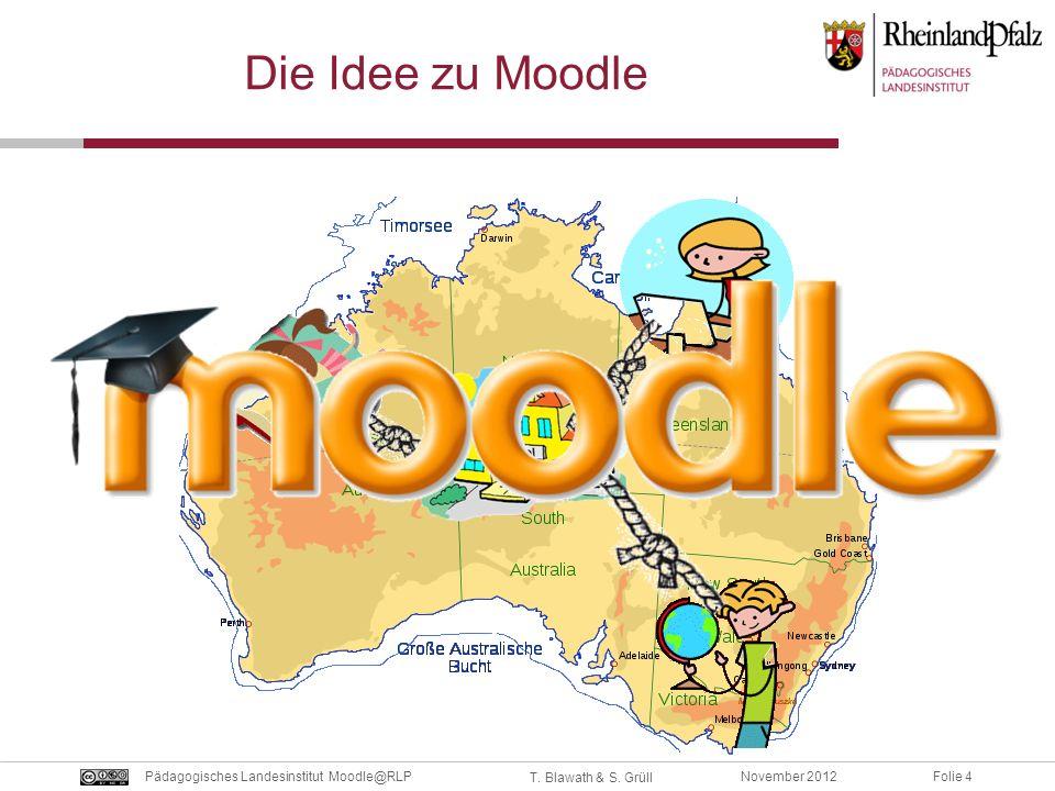 Die Idee zu Moodle