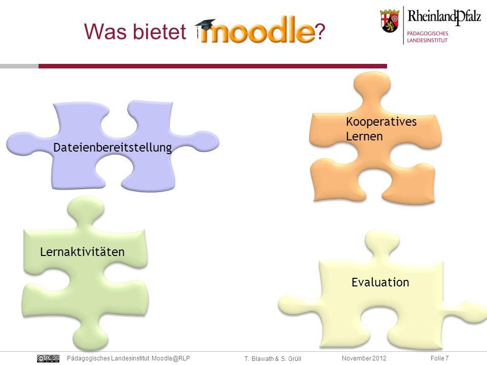 Was bietet Kooperatives Lernen Dateienbereitstellung Lernaktivitäten