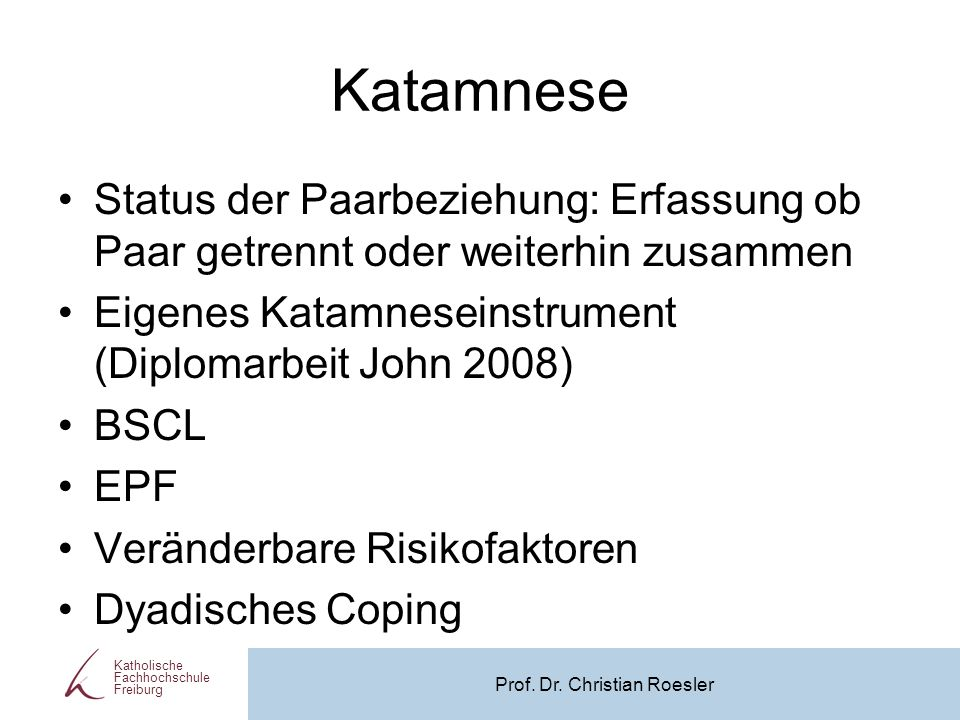 Prof. Dr. Christian Roesler