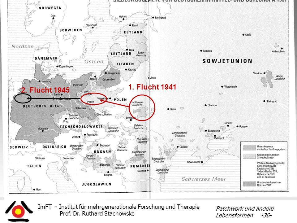 1. Flucht 1941 2. Flucht 1945