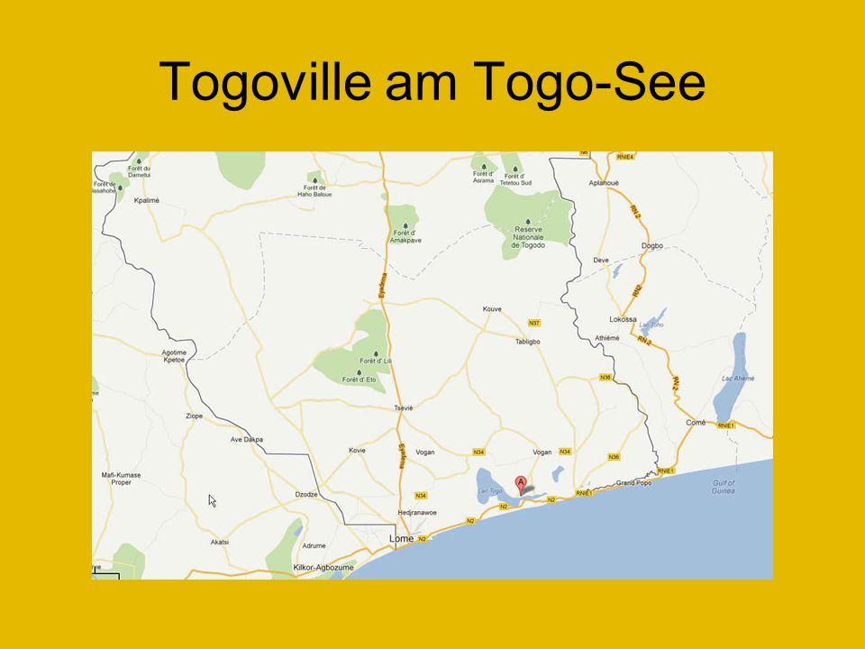 Togoville am Togo-See