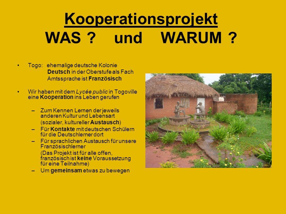Kooperationsprojekt WAS und WARUM