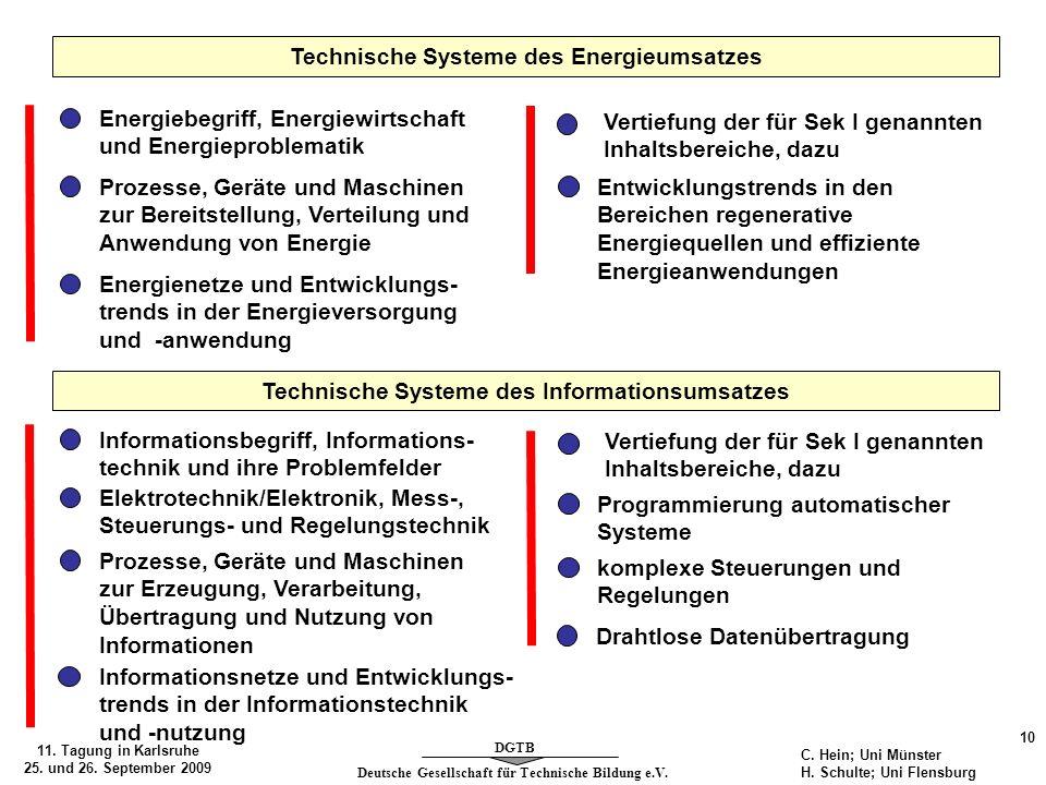 Technische Systeme des Energieumsatzes