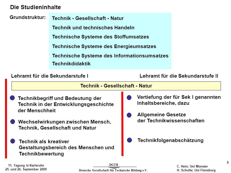 Technik - Gesellschaft - Natur