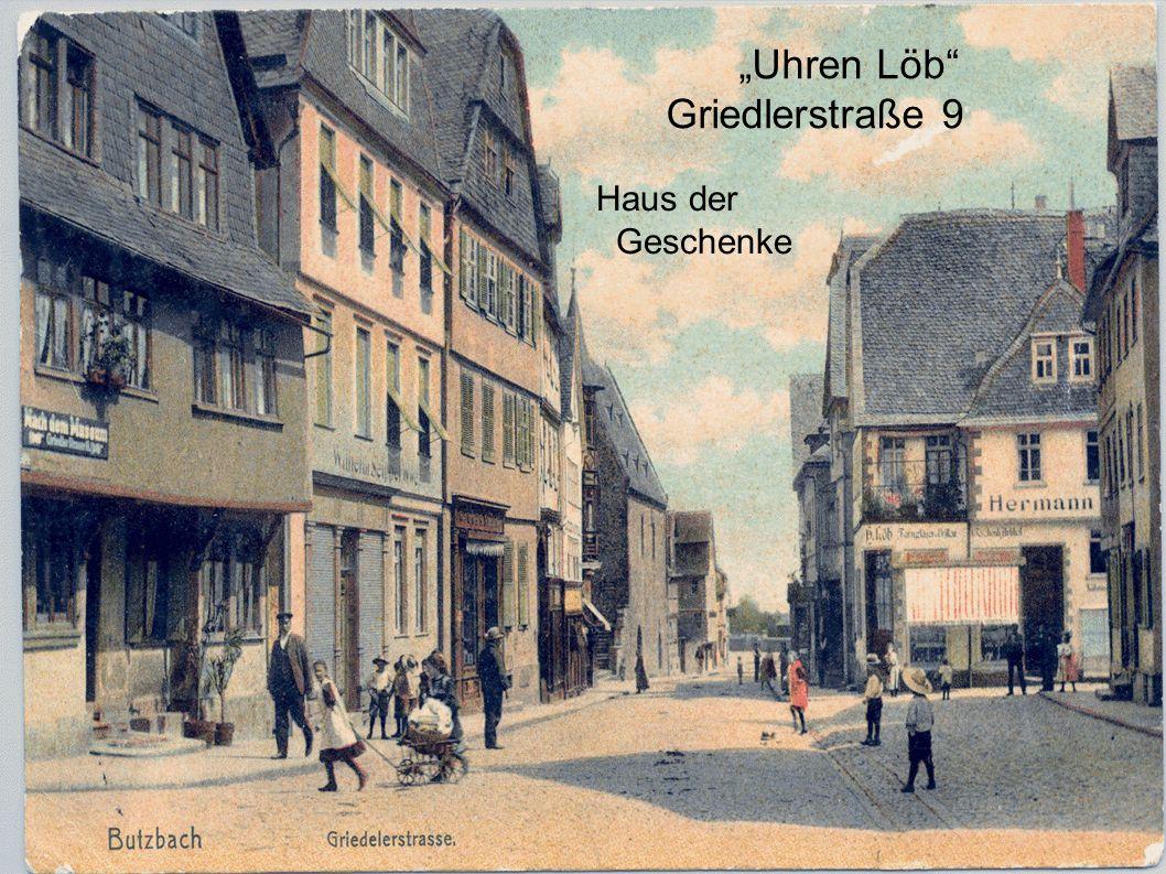 """""""Uhren Löb Griedlerstraße 9 Haus der Geschenke"""