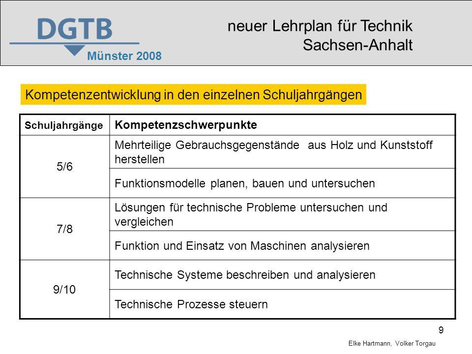 neuer Lehrplan für Technik Sachsen-Anhalt