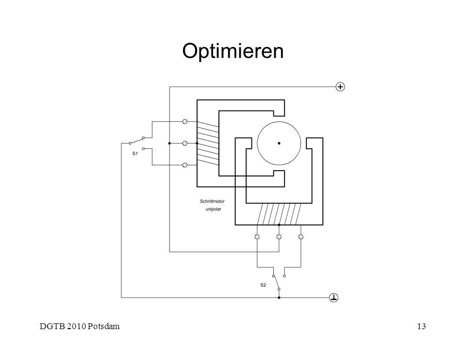 Optimieren DGTB 2010 Potsdam