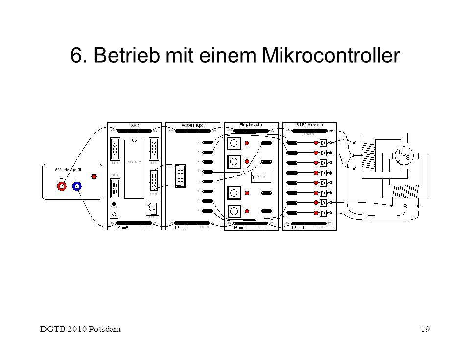 6. Betrieb mit einem Mikrocontroller