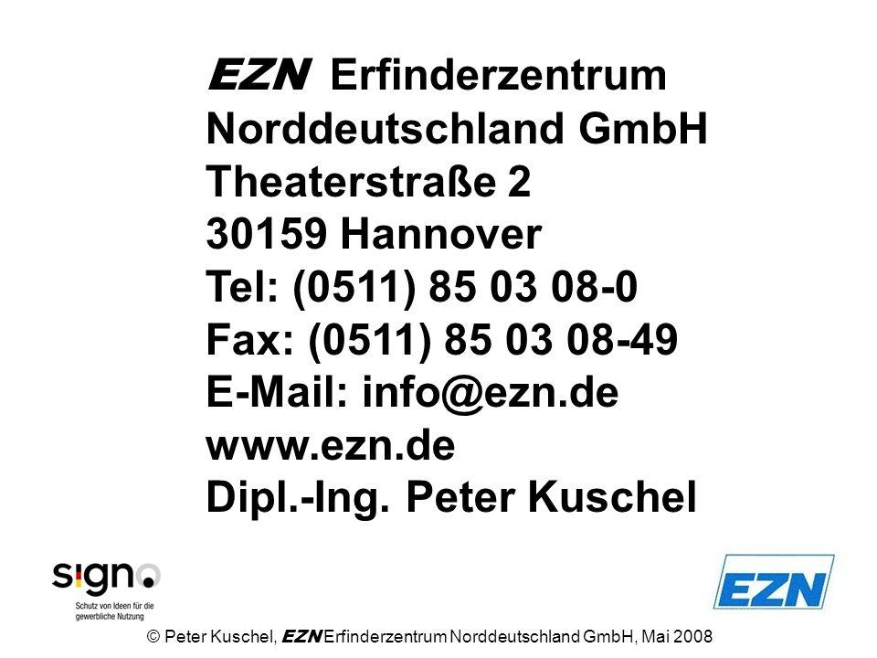 EZN Erfinderzentrum Norddeutschland GmbH Theaterstraße 2