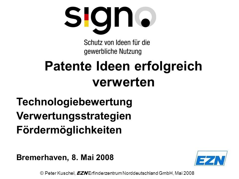 Patente Ideen erfolgreich verwerten