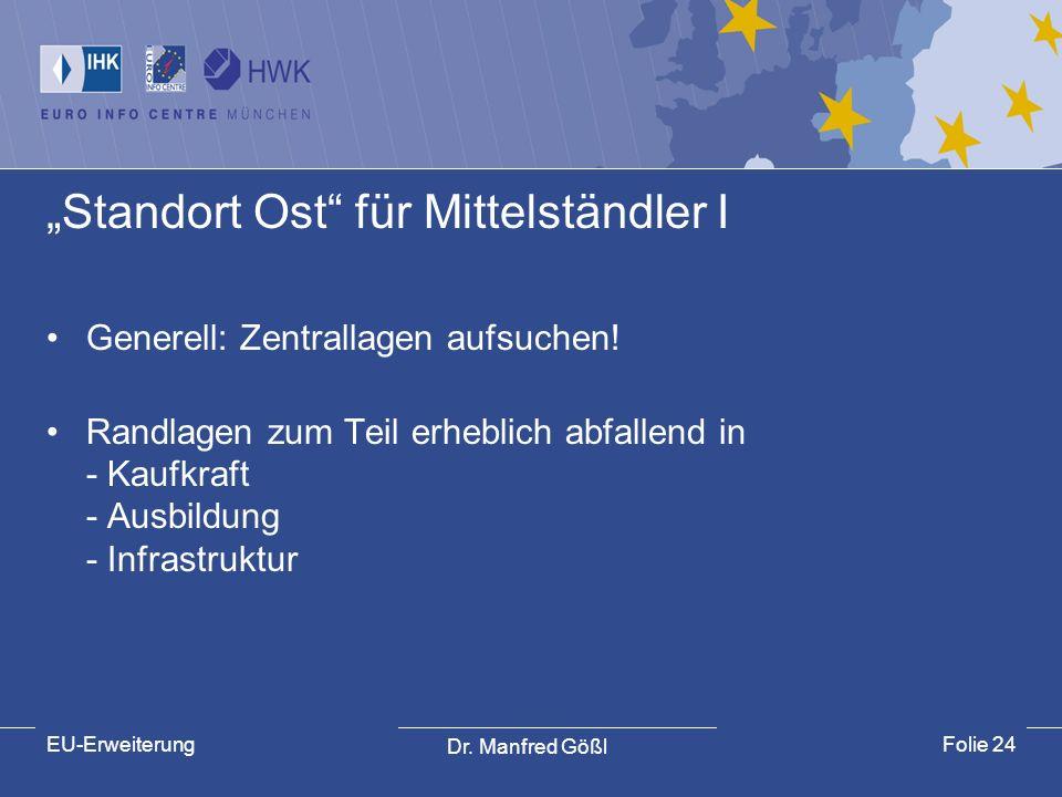 """""""Standort Ost für Mittelständler I"""