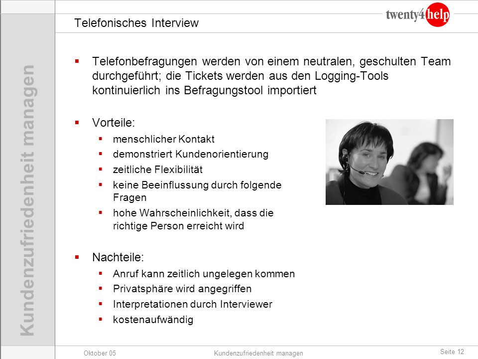 Telefonisches Interview