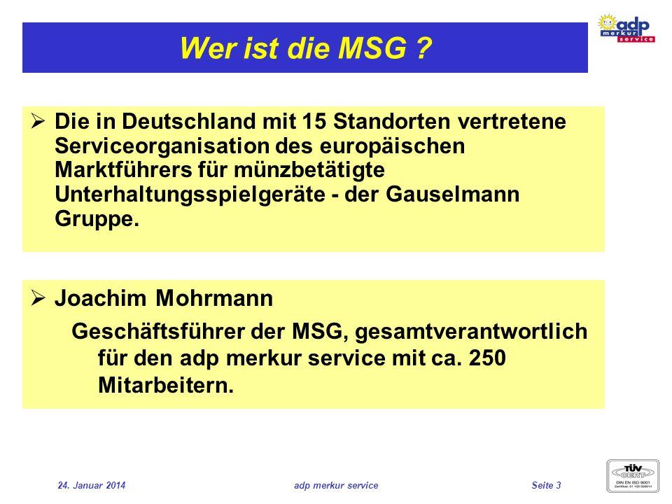 Wer ist die MSG Joachim Mohrmann