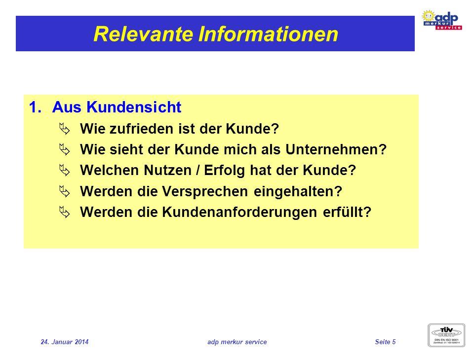 Relevante Informationen
