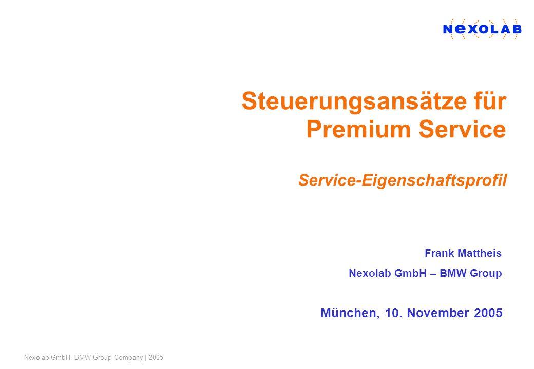 Steuerungsansätze für Premium Service Service-Eigenschaftsprofil