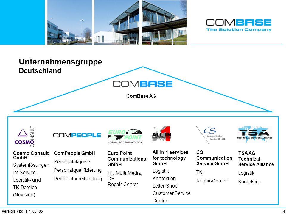 Unternehmensgruppe Deutschland