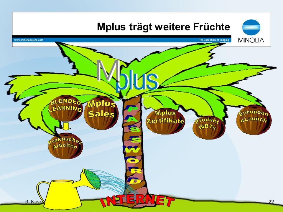 Mplus trägt weitere Früchte