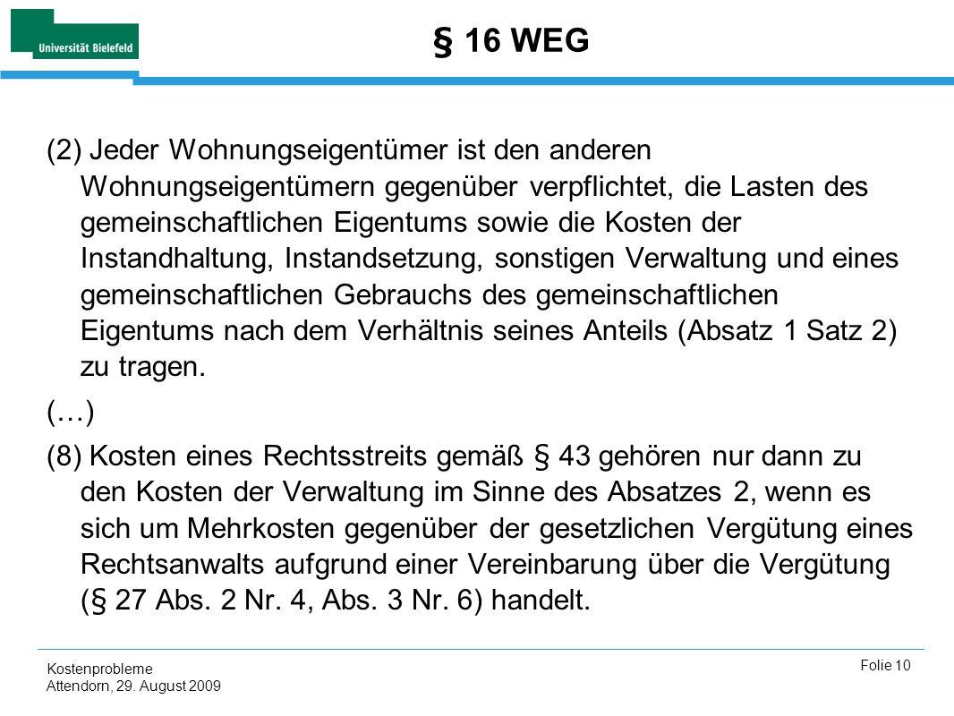 § 16 WEG