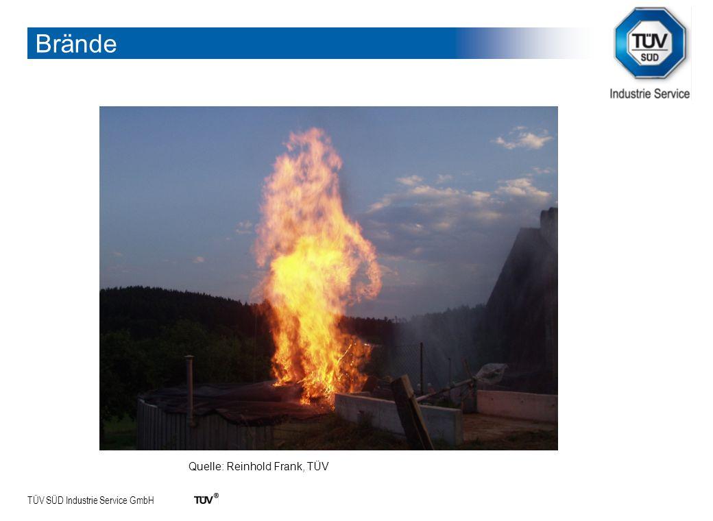 Brände Quelle: Reinhold Frank, TÜV