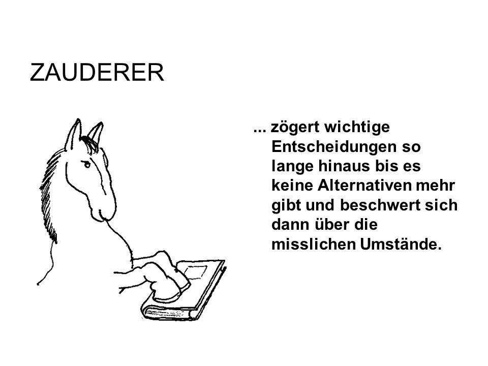 ZAUDERER ...