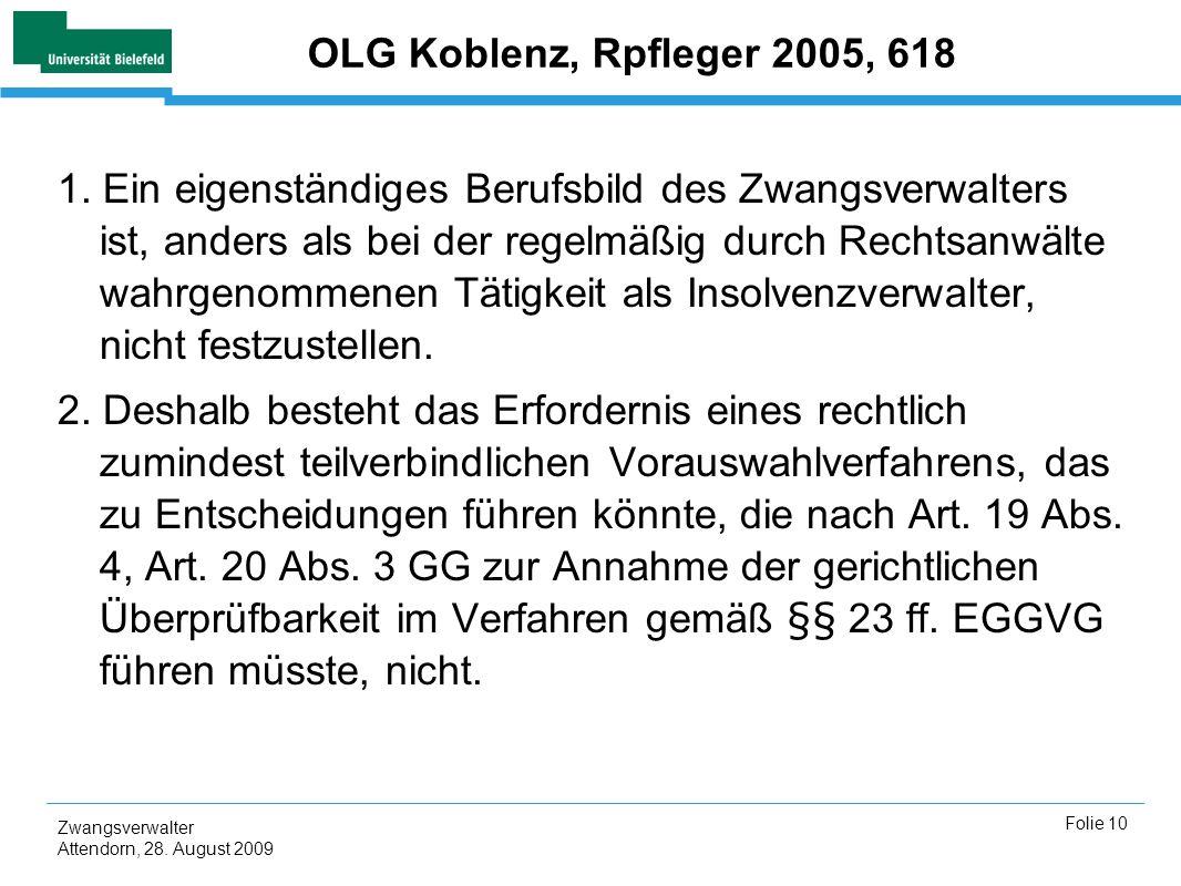OLG Koblenz, Rpfleger 2005, 618