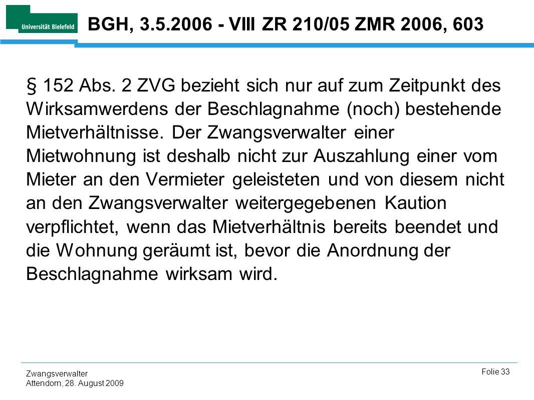 BGH, 3.5.2006 - VIII ZR 210/05 ZMR 2006, 603