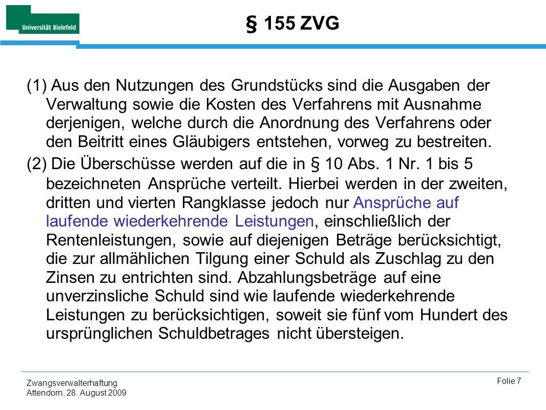 § 155 ZVG